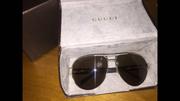 Дизайнерские Золотые очки Gucci - очки Гуччи