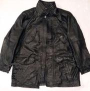 Продам кожанную осеннюю утепленную мужскую куртку 56 размер