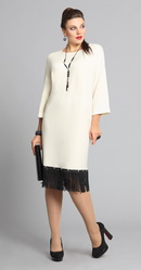 Стильное платье из мягкой польской ангоры. 52-58 размеры.