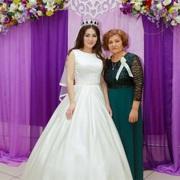 Шикарное атласное свадебное платье Rosa Clarа