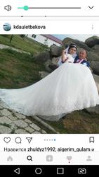 Срочно продается свадебное платье со шлейфом!